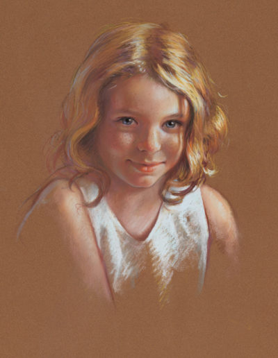 """Tween"" pastel 20 x 16""<br /><span style=""font-size:smaller;""></span>"