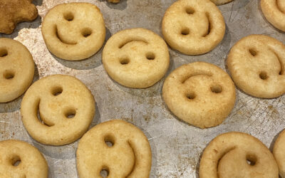 Dino Nuggets and Smiley Fries